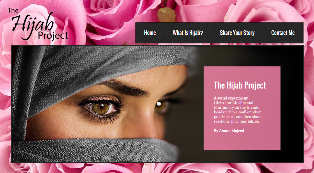 This project stemmed from Amara's feminist views on how women - Muslim and non-Muslim alike -are perceived and respected everywhere!